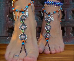summer, feet, and bohemian image