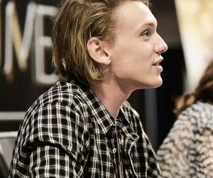 Jamie Campbell Bower and blonde image