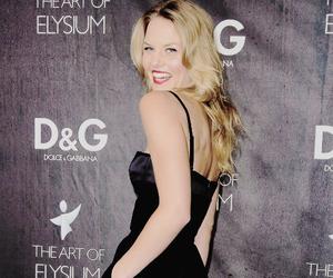 actress, black dress, and blonde image