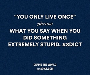 lol, quote, and yolo image