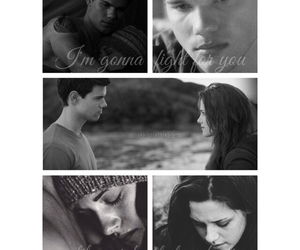 bella swan, eclipse, and jacob black image