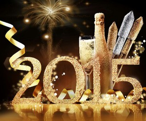 new year, happy, and 2015 image