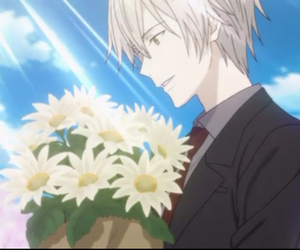 anime, flowers, and inu x boku ss image