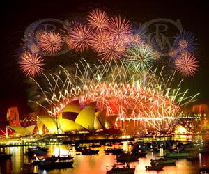 australia, happy new year, and fireworks image