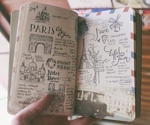 journal and paris image