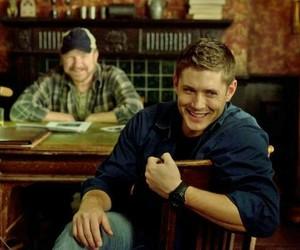 supernatural, dean, and Jensen Ackles image