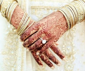 accessories, henna, and oriental image