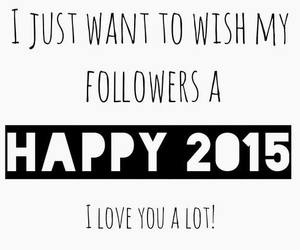2015, new year, and followers image