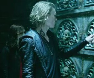 Jamie Campbell Bower, city of bones, and the mortal instruments image