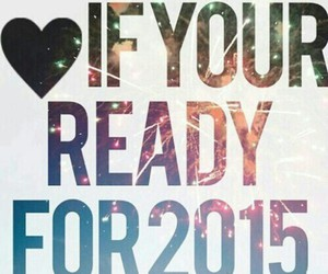 new year, heartit, and ready image