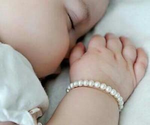 adorable, babies, and sleeping baby image