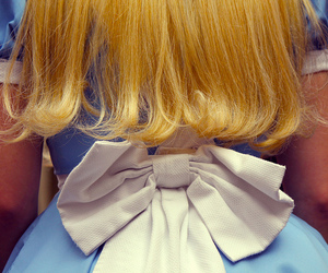 alice in wonderland, blonde, and alice image