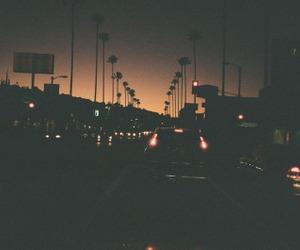 car, city, and dark image