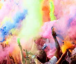 party, colors, and fun image