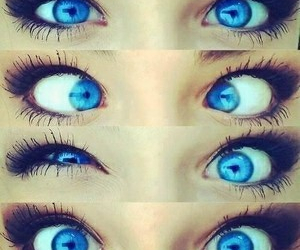 blue, eyes, and weird image