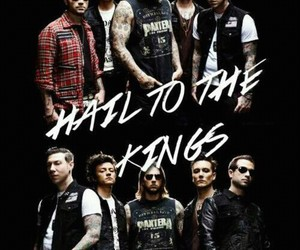 avenged sevenfold, hail to the king, and a7x image