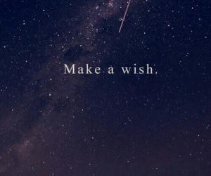 a wish, Bleu, and blue image