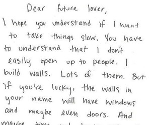 quote, love, and walls image