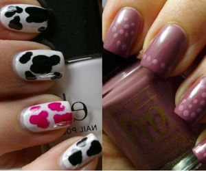 esmalte, nails, and style image