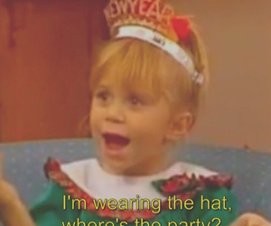 full house, happy, and hat image