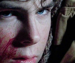 eyes, twd, and carl grimes image