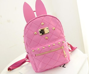 backpack and pink image