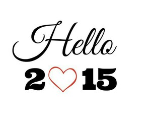 hello, new year, and 2015 image