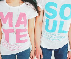 cute, fashion, and soul mate image