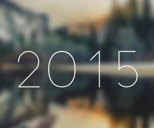 new year, tumblr, and 2015 image