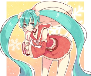 miku, miku hatsune, and vocaloid image