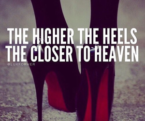 heels, heaven, and high heels image