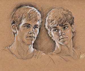 amazing, newt, and thomas-brodie sangster image