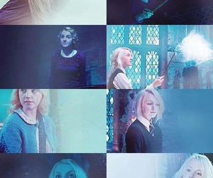 harry potter, luna lovegood, and evanna lynch image