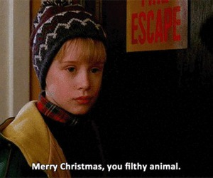 home alone, christmas, and quotes image