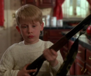 home alone, gun, and kevin image