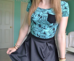 girl, outfit, and shirt image