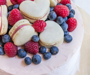 berries, cake, and food image