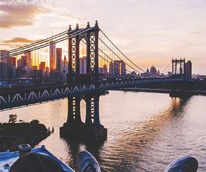 city, bridge, and travel image
