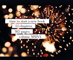 new years, new book, and 2015 image