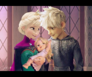 baby, jelsa, and disney image