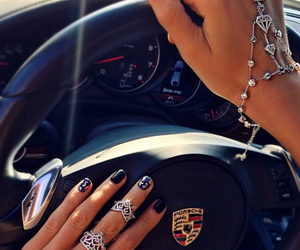 luxury, car, and nails image