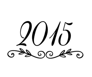 new, year, and 2015 image