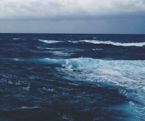 ocean, blue, and sea image
