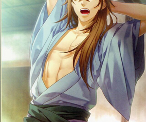 hakuouki, heisuke toudou, and anime image