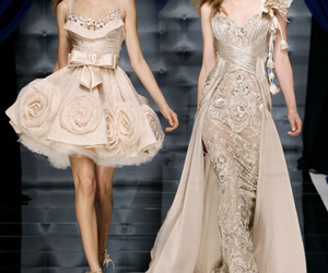 dress, Zuhair Murad, and model image