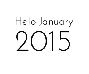 january, 2015, and new year image