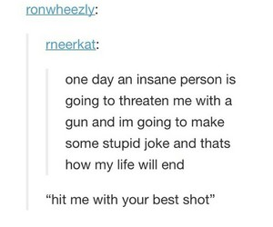 funny, insane, and tumblr image