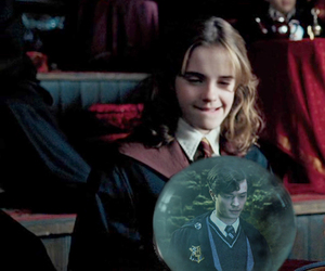 emma watson, harry potter, and lord voldemort image