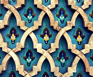 morocco, blue, and pattern image