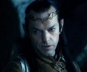 elf, hobbit, and elrond image